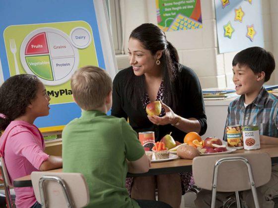 'Voedingseducatie helpt kinderen bewuste voedingskeuzes te maken'
