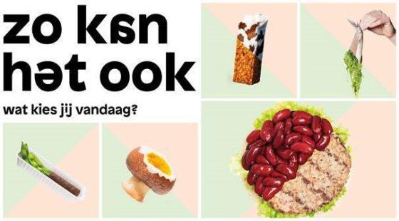 Campagne 'Zo kan het ook' moet balans brengen tussen plantaardige en dierlijke eiwitten