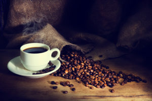 Koffie stimuleert de eigenschappen van bruin vetweefsel